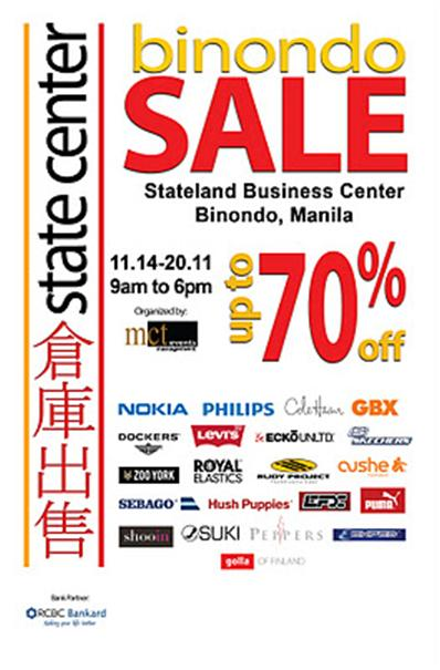 64b29902107e I was excited to read that it was a Binondo Warehouse sale in State Center  but this time