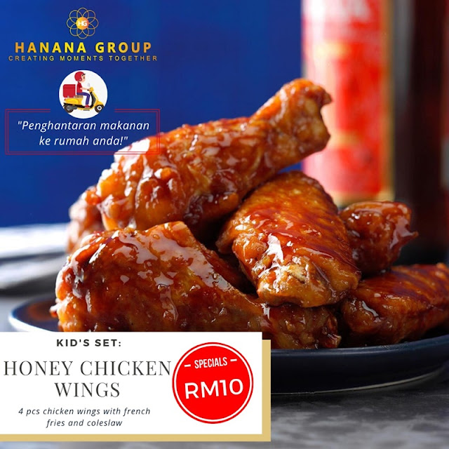 Honey Chicken Wing