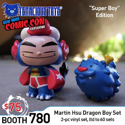 "New York Comic Con 2019 Exclusive ""Super Boy"" Dragon Boy Vinyl Figure Set by Martin Hsu x Tenacious Toys"