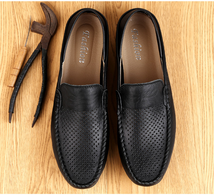 2019 Summer New Men's Loafers Shoes Casual Shoes Genuine