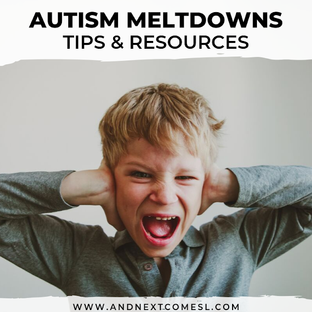 Autism meltdowns and sensory meltdowns
