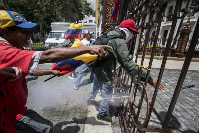 Veppex repudia asalto al Parlamento y las agresiones