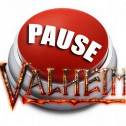 Valheim: Stopping the game while paused