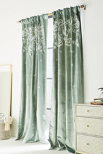 Curtain And Valance Set Track Architecture Around Bed Art
