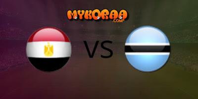 بث مباشر مشاهدة مباراة مصر و بوتسوانا الودية 14/10/2019