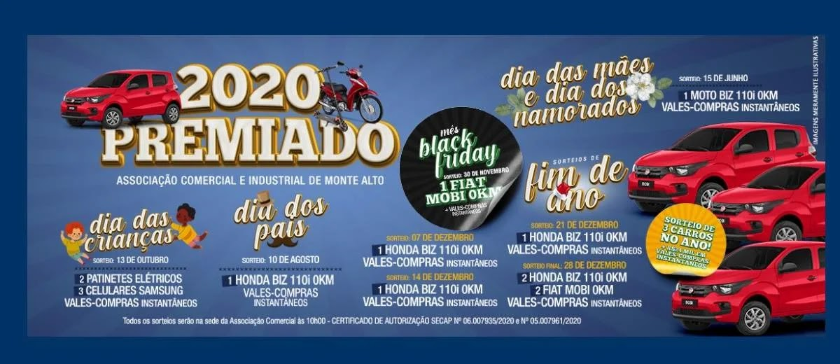 Cadastrar Promoção ACIMA 2020 Premiado - Concorra Muitos Prêmios