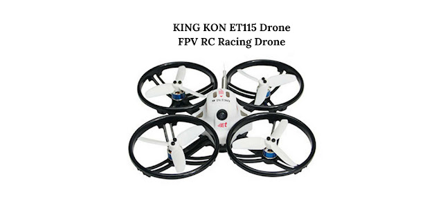 KING KON ET115 Drone - FPV RC Racing Drone
