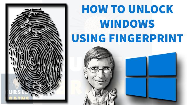 Unlock Any Windows With Fingerprint