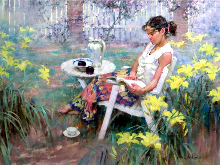 John Michael Carter 1950 | American Impressionist Figurative painter