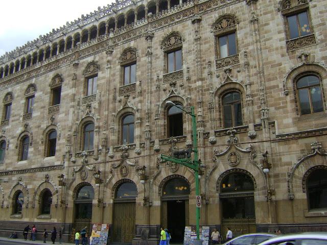 Palacio de correos. Ciudad de Mexico