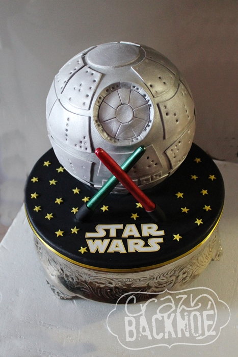 Crazy Backnoe Star Wars Torte Der Todesstern Enthalt Werbung