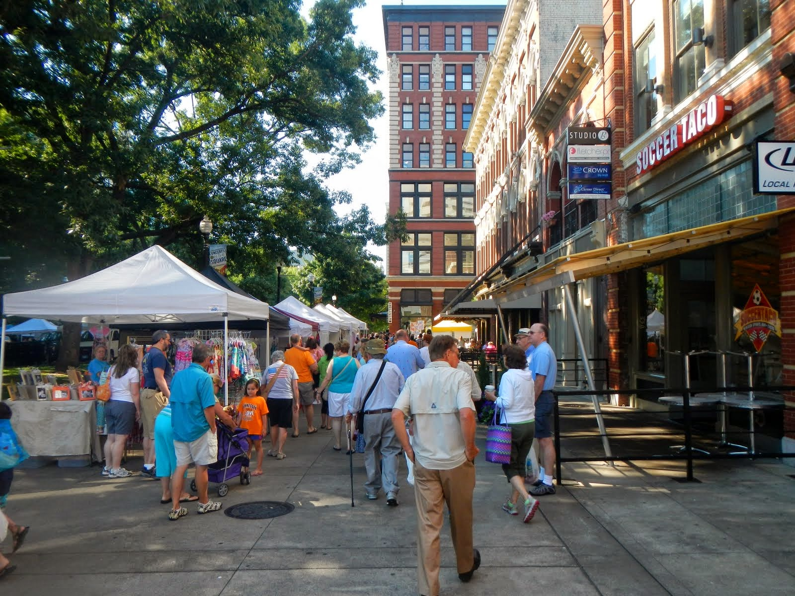 Big Daddy Dave: Knoxville's Downtown Farmer's Market
