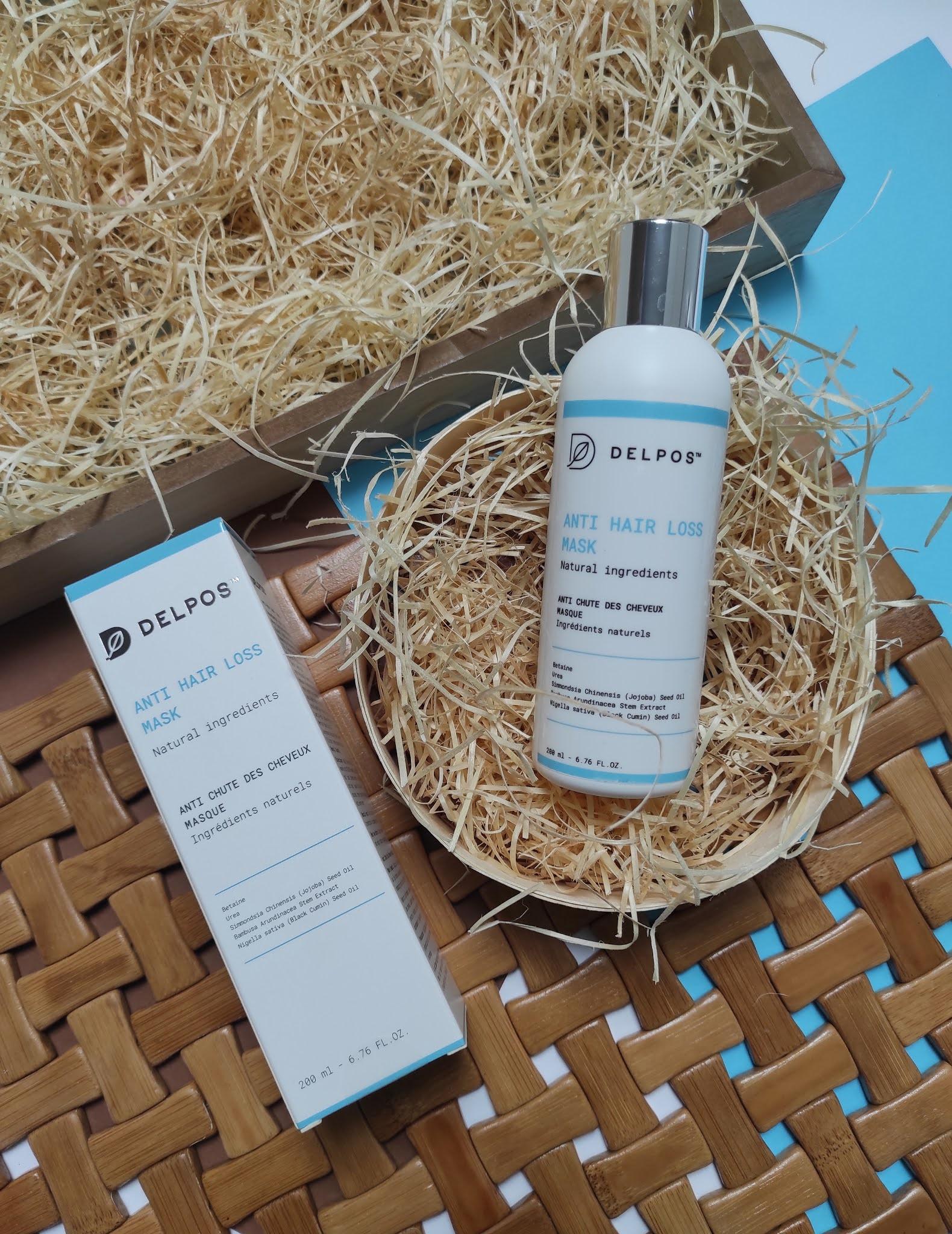 delpos Anti hair loss mask - odżywka przeciw wypadaniu włosów 200 ml
