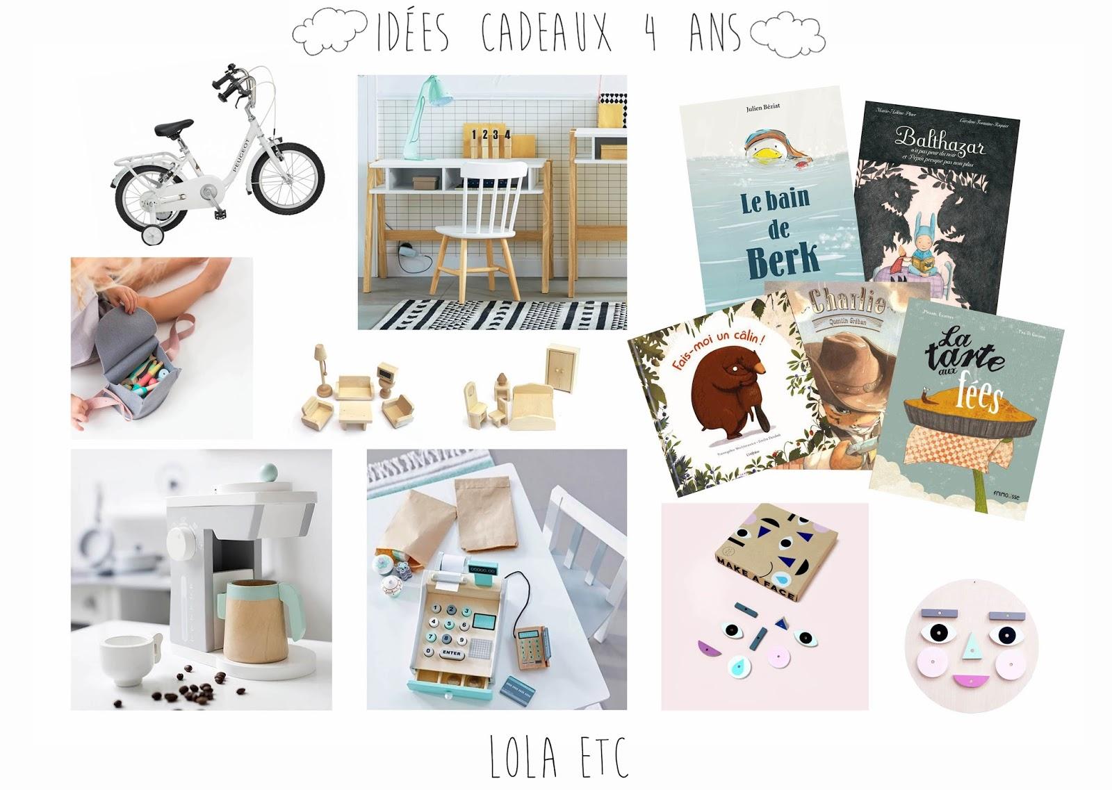 id es cadeaux pour un enfant de 4 ans lola etc t ra. Black Bedroom Furniture Sets. Home Design Ideas