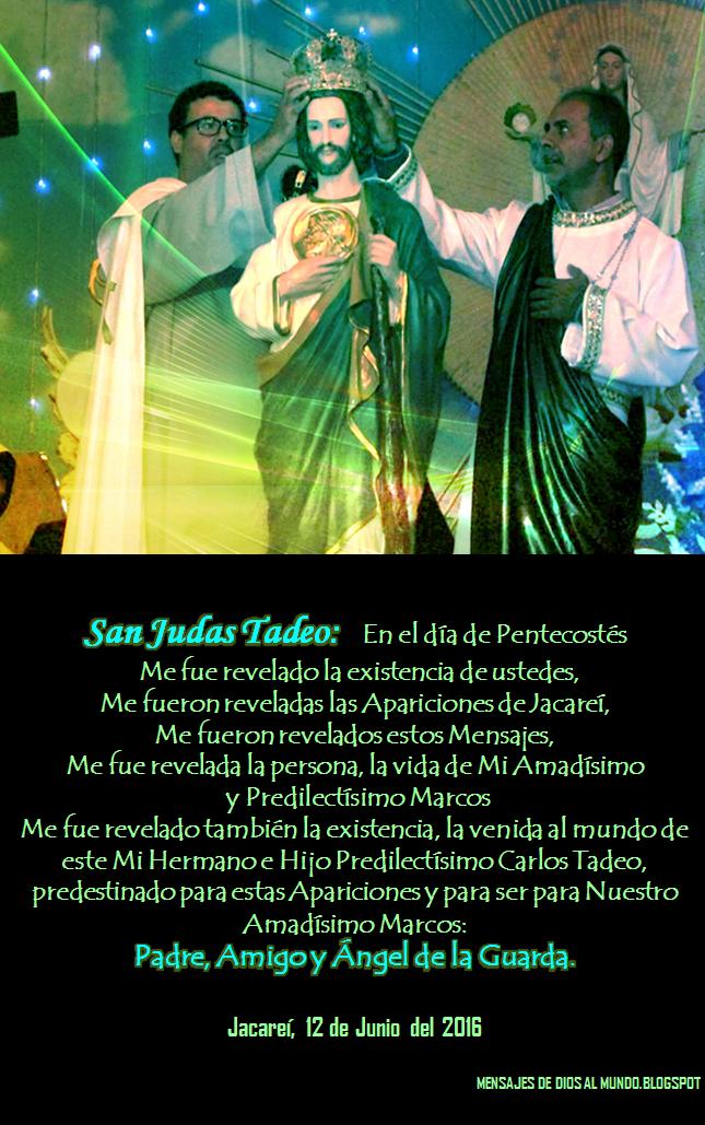Mensajes De Dios Al Mundo: 12 JUNIO 2016 MENSAJE DEL ESPÍRITU SANTO ...