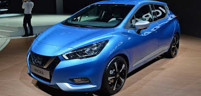 Nissan Micra 2017 blue image