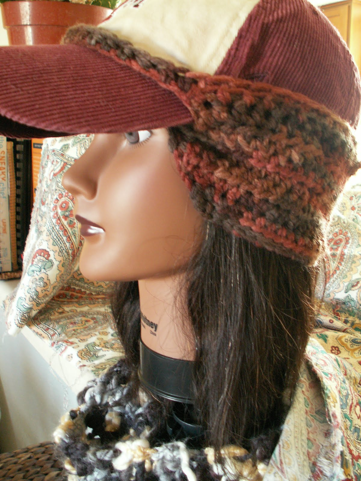 Here it is! The baseball cap ear warmer!  f91606f4ddf