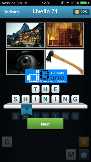 Movie Quiz (Indovinare il film) soluzione livello 71-80