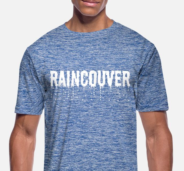 raincouver vancouver men's t-shirt