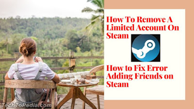 How To Remove A Limited Account On Steam - How to fix Error adding friend on Steam