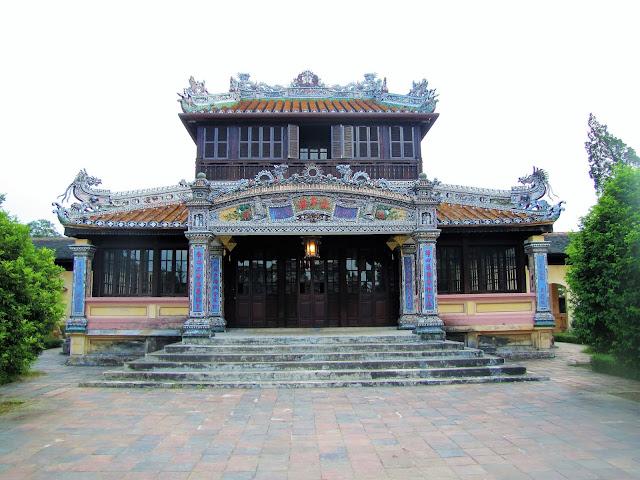 residence imperial citadel hue vietnam