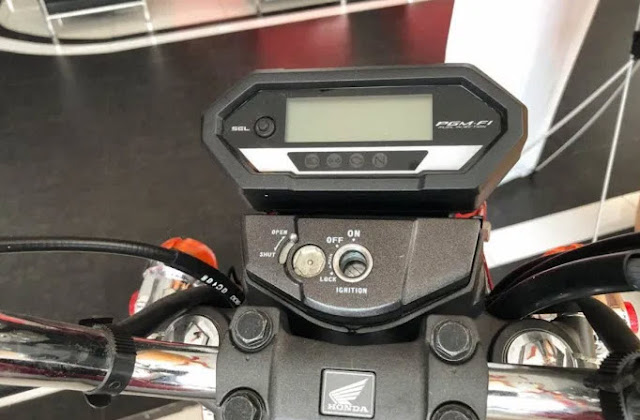 Tampilan Spedometer custom Cb150