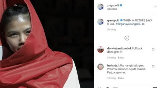 Ini Bukti Nasionalisme Greysia Polii, Netizen: Aku Nangis, Fotomu Beri Sejuta Makna!