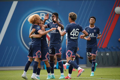 اهداف مباراة باريس سان جيرمان وشامبلي (2-2) مباراة ودية