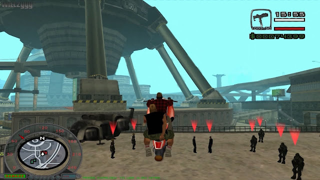 تحميل لعبة جاتا في الفضاء gta Alien City