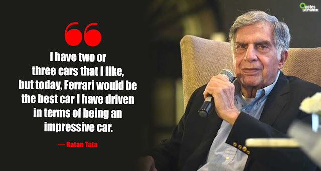 Ratan Tata Inspirational Quotes