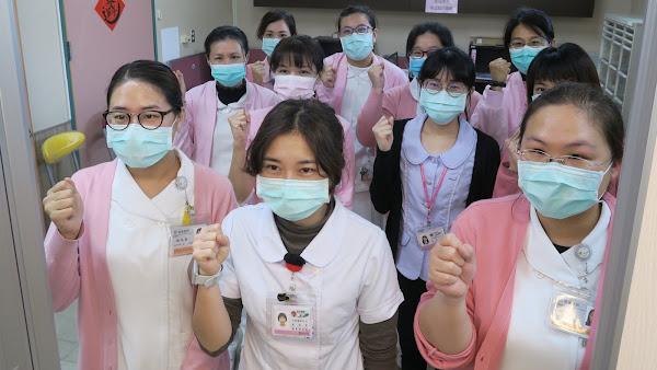 衛福部彰化醫院醫護接力合唱 「手牽手」為部桃加油