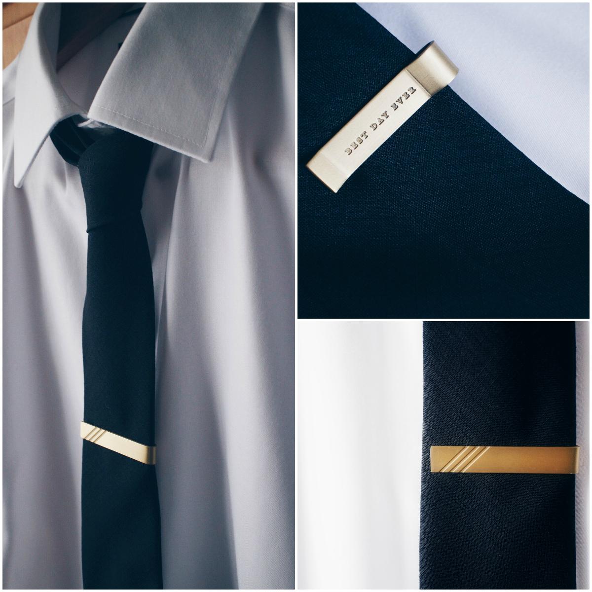 mens society tie clip