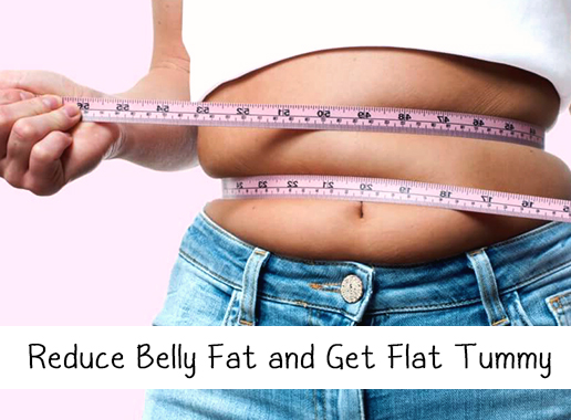 Get a Flat Belly by Eating these Foods for Weight Loss