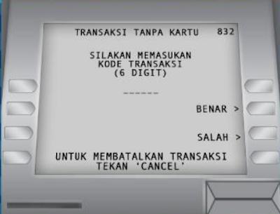 Gambar ATM BCA, Masukan kode Transaksi gambar No. 5 - hostze.net