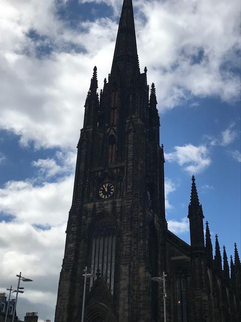 Edinburgh, Cathedral, Spire,