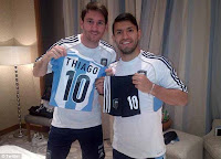 Messi and Aguero.