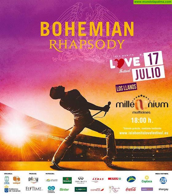"""Isla BONITA Love Festivalte invita al cine con """"Bohemian Rhapsody"""" antes del concierto de DSR-Queen"""