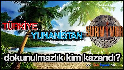 Survivor, Survivor Türkiye Yunanistan, Survivor 2019, Survivor Dokunulmazlık, Dokunulmazlık, Kim Kazandı, 2 Şubat, Dokunulmazlık Oyunu,