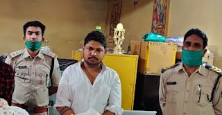 एक और शातिर बदमाश अमित जोशी एन.एस.ए. में गिरफ्तार