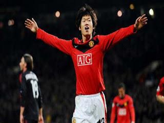 Park Ji-Sung membela Manchester United selama tujuh musim