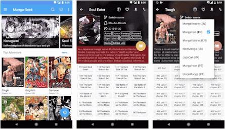 Aplikasi baca manga Android - 3