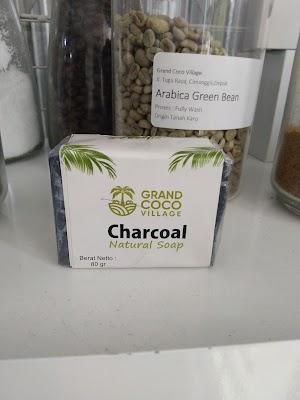 Charcoal Natural Soap GCV