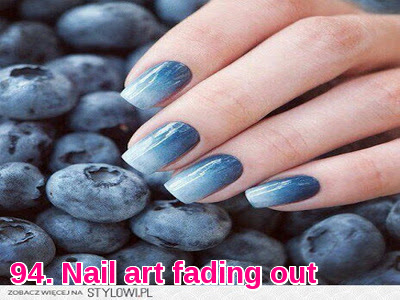 Nail art fading out