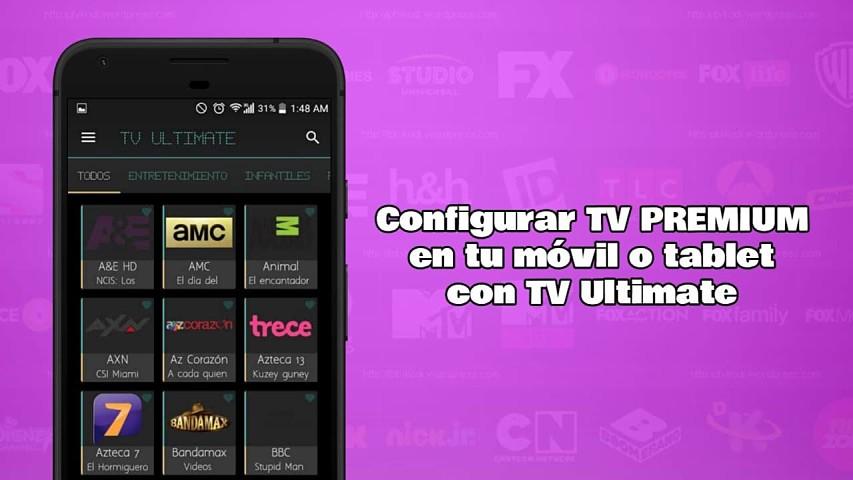 Canales de TV en vivo gratis - TV Ultimate