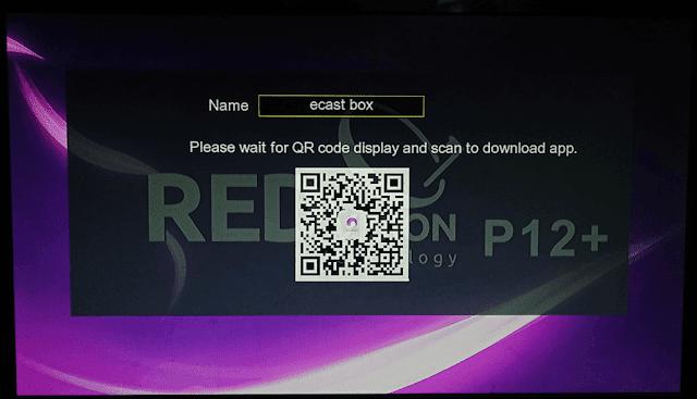Redvision P12 screen shot 4