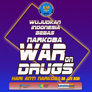 poster hari anti narkoba sedunia psd  - kanalmu