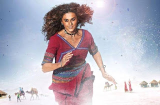 Rashmi Rocket Motion Poster: Taapsee's Rugged Look Will Give You Goosebumps