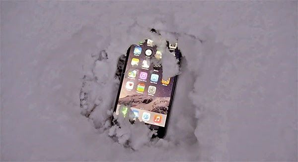 iPhone 6 Plus Buried In Snow – Will it Survive ?
