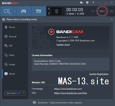 Download Bandicam 4.5.7 Final Terbaru Full Version Crack Patch