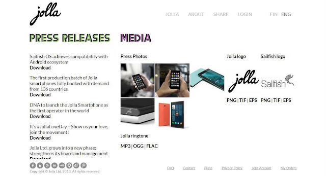 What is Finland based Jolla-Sailfish smart mobile OS?
